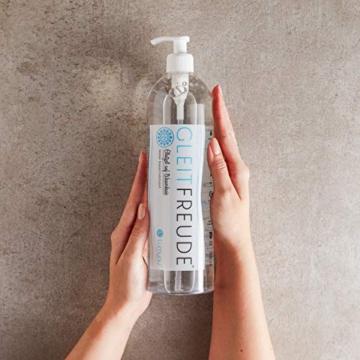 Deluxe Aqua Gleitgel (1 Liter) Lumunu Gleitfreude, Langzeitwirkung auf Wasserbasis, von Venize - 2
