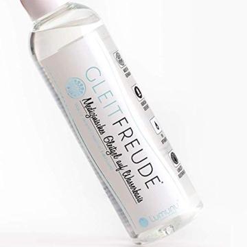 Deluxe Lumunu Aqua Gleitgel Gleitfreude, Langzeitwirkung auf Wasserbasis (250ml), von Venize - 4