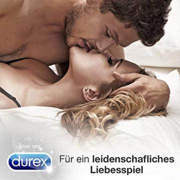 Durex Gleitgel Play 2-in-1 Massage Aloe Vera – Wasserbasiertes Gleitgel mit pflegenden Aloeveraextrakten für sinnliche Liebesmassagen – 1 x 200 ml im Spender - 6