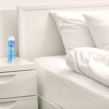 Durex Play Feel Gleitgel auf Wasserbasis – Leichtes, seidiges Gleitgel für gefühlsechtes Empfinden – 1 x 100 ml in der praktischen Dosierflasche - 3