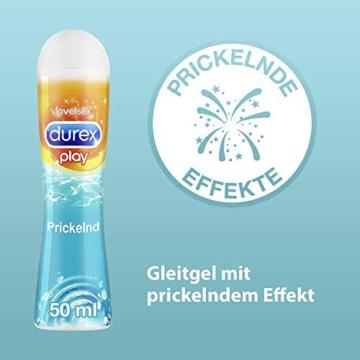 Durex Play Gleitgel Ausprobierpaket für Sie und Ihn (Feel & Prickelnd) - 4