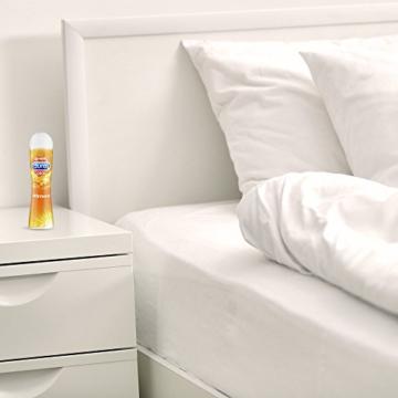 Durex Play Wärmend Gleitgel auf Wasserbasis (Sanftes Gleitgel mit wärmendem Effekt) 1 x 100ml in der praktischen Dosierflasche - 7
