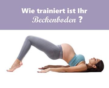 EKARIAN Beckenboden Trainingshilfen | nach Schwangerschaft | Beckenbodentraining | bei Blasenschwäche | Beckenbodenkugeln | Beckenbodentrainer | Liebeskugeln - 5
