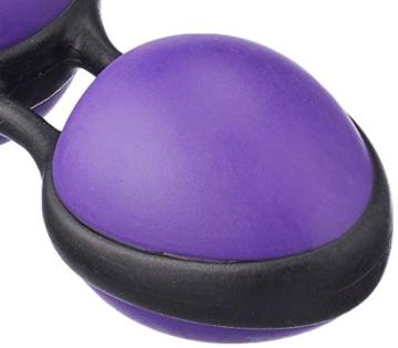 Joydivision Joyballs secret - violett-schwarz, 1 Stück - 4