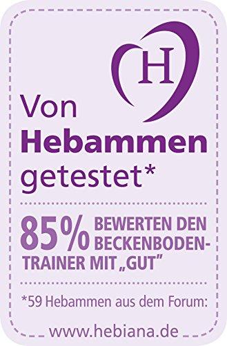 NUK 10256366 Beckenbodentrainer, unsichtbare Trainingshilfe für die Rückbildung nach der Geburt, hoher Tragekomfort, 1 Stück - 3