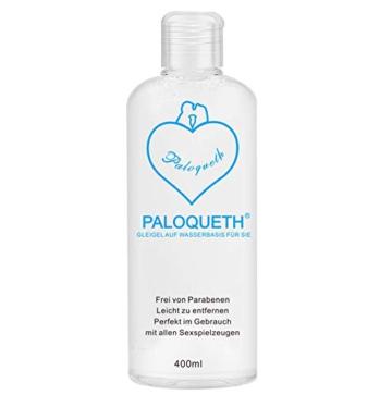 PALOQUETH Gleitgel auf Wasserbasis (400 ML), Premium Aqua Gleitmittel Sicher Langzeitwirkung Und Intimgel Sensitiv - 1