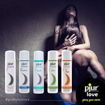 pjur WOMAN - Gleitgel für Frauen auf Silikonbasis - für prickelnden Sex und längeren Spaß - optimal für empfindliche Haut - 1er Pack (1 x 100 ml) - 4