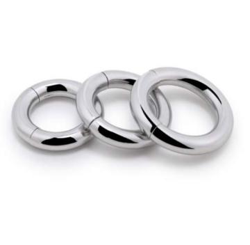 Penisringe mit Magnetverschluss Edelstahl Metall magnetisch Cock Ring Erektionsverlängernd Größe 30 mm - 3